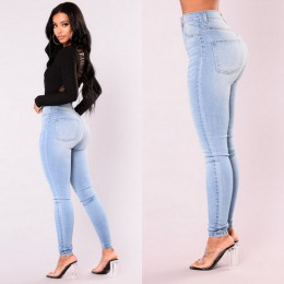 Las nuevas llegadas de ITFABS a la moda de las mujeres calientes del dril de algodón de señora pantalones delgados del estiramie