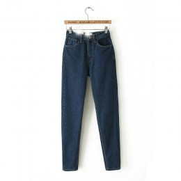 Pantalones vaqueros de mezclilla para mujer Europa y el nuevo Dongyu Zhou con pantalones vaqueros de cintura retro Haren