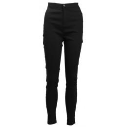 Venta caliente mujeres Denim Skinny Jeggings pantalones de cintura alta estiramiento pantalones ajustados lápiz