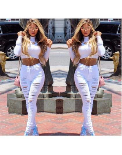 Nuevos Pantalones Vaqueros Elasticos Rotos Para Mujer Con Agujeros Grandes Informales De Moda 2019 Undershop Es