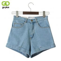 GOPLUS pantalones cortos de mezclilla de cintura alta para mujer Vintage pantalones cortos de marca Sexy pantalones cortos de me