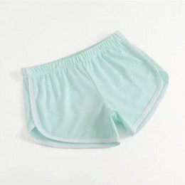 Moda DICLOUD cintura elástica Casual Shorts mujer 2018 cintura alta negro blanco pantalones cortos Harajuku playa Sexy corto rop