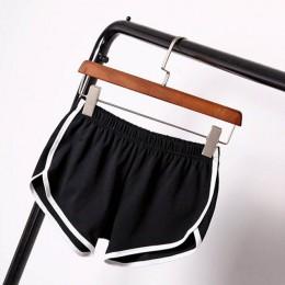 Pantalones cortos de mujer Casual para mujer todo-fósforo holgado sólido suave algodón ocio femenino entrenamiento cintura ajust