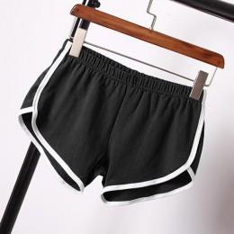 SHUJIN 2 piezas ropa deportiva pantalones cortos sueltos mujer Casual Patchwork pantalones cortos Sexy de cintura alta pantalone