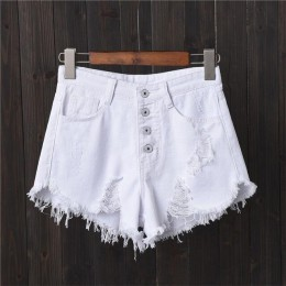 DJGRSTER Sexy Jeans pantalones cortos de verano para mujer Pantalones cortos Mini Denim corto femenino Casual Jean negro pantalo