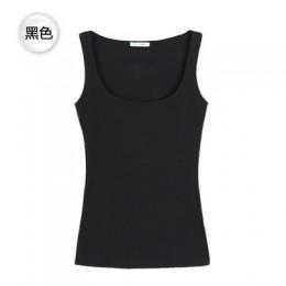 Camisetas sin mangas sexis de corte bajo para mujer grandes de cuello en U de algodón depósitos básicos ropa Sexy para clubs noc