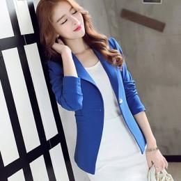 PEONFLY señoras Blazer Blaser de manga larga mujeres traje chaqueta femenina Blazer femenino mujer rosa azul blanco negro Blazer