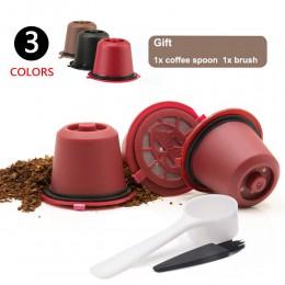 3 unids/pack Cápsula de café Nespresso recargable reutilizable café cápsulas de plástico Filtro de línea Original máquina de Nes