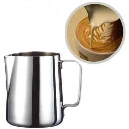 Fantástica cocina de acero inoxidable jarra de espuma de leche jarra de café Espresso jarra de cerveza artesanal café con leche