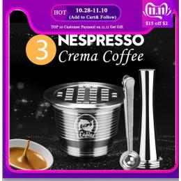 Cápsula de Metal inoxidable de ICafilas reutilizable de Espresso con molinos de café de prensa cesta de la cafetera de Espresso