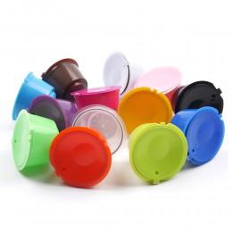 Cápsula de café reutilizable de 13 colores de plástico recargable Compatible con filtro de café Dolce Gusto cestas de cápsulas