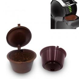 1 Uds. Cápsula de café Dolce Gusto reutilizable, plástico recargable Compatible Dolce Gusto filtro de café cestas de cápsulas Dr