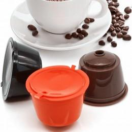 3 unids/pack blanco recargable Dolce Gusto café Cápsula de Nescafé reutilizable cápsulas recarga dolce gusto reutilización de ce