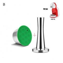 De Metal de acero inoxidable reutilizable Dolce Gusto cápsula Compatible con máquina de café dolce gusto recargable reutilizable