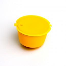 Taza Cápsula de café recargable de plástico de 11 colores 1 Pza 200 veces reutilizable Compatible con filtro de cestas de cápsul