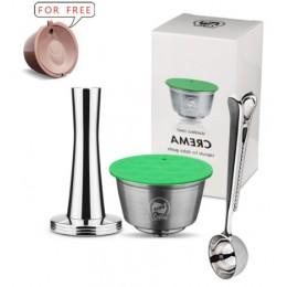 Metal inoxidable Rusable Dolce Gusto café cápsula para Nescafé con filtro utilizado tiempo de 200 café molido manipulaciones cuc