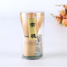 Ceremonia japonesa de bambú 64 Matcha té verde batidor de polvo de bambú batidor de bambú cazo de bambú herramientas útiles acce