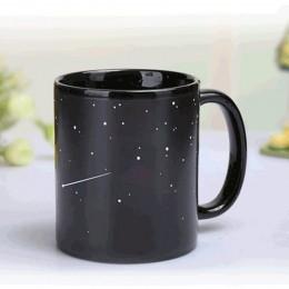 Nuevo estilo tazas de cerámica taza de cambia el color tazas de café con leche regalos para amigos taza de desayuno para estudia