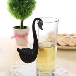1 Uds. Suministros de cocina colador de té molde de silicona con forma de fresa Infusor de té accesorio para tetera