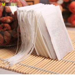 Gran oferta 3 tamaños 100 unids/lote Teabags bolsitas de té vacías perfumadas con cuerda Heal Seal filtro de papel para hierbas