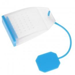 1 Uds. Infusores de té de silicona estilo bolsa filtros de Infusor de té de especias a base de hierbas utensilios de cocina perf
