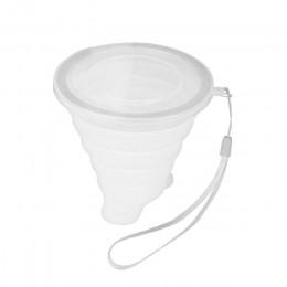4 colores 250ML taza de viaje de silicona retráctil plegable taza de café telescópica plegable taza de té al aire libre deportes