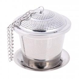 Infusor de té de malla de acero inoxidable Filtro de té reutilizable tetera suelta hoja especia filtro infusor filtro para té ac