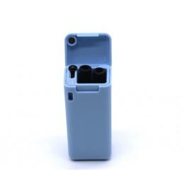 Vajilla medioambiental resistente a la paja plegable reutilizable portátil de viaje de paja plegable creativa paja plegable al a