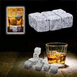 100% piedras de whisky Natural beber cubo de hielo para whisky piedra enfriador de roca regalo de boda Favor Navidad Bar enfriad