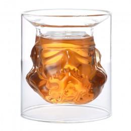 Cool Star Wars casco de soldado de asalto whisky decantador cristal vino botella decantadora mágica dispositivo de aireación de