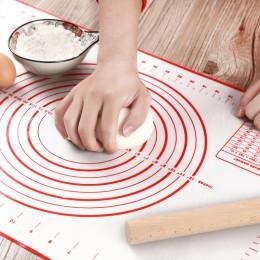 Estera para hornear de silicona de masa de Pizza de pastelería cocina Gadgets Herramientas de cocina utensilios para hornear ama