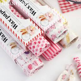 50 unids/lote papel encerado para alimentos papel engrasado envolturas de alimento papel de envolver para pan sándwich hamburgue