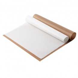 Alfombrilla reutilizable resistente a alta temperatura hoja de teflón para hornear papel de aceite almohadilla resistente al cal