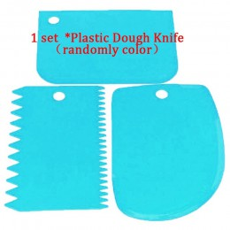 Mesa giratoria de torta de plástico, cuchillo decorando masa de plástico, soporte para tortas de crema de 10 pulgadas, mesa gira