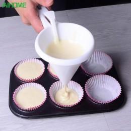 Herramientas ajustables para hornear glaseado para dulces embudo de cocina accesorios de pastelería de Chocolate dispensador de