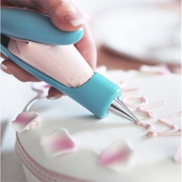 Glaseado de repostería bolígrafo herramientas para pasteles bolsa de tuberías puntas para boquilla Fondant pastel crema jeringui
