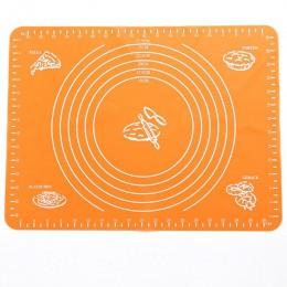 1 Pza estera de silicona antiadherente almohadilla de revestimiento de masa para pasteles pasta para hornear harina HOJA DE MESA