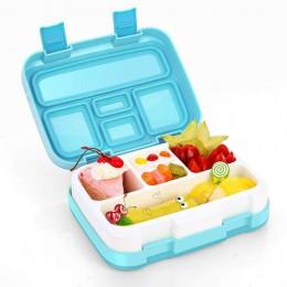 Lonchera de microondas TUUTH lonchera portátil múltiples rejillas caja Bento para estudiantes escolares niños vajilla contenedor