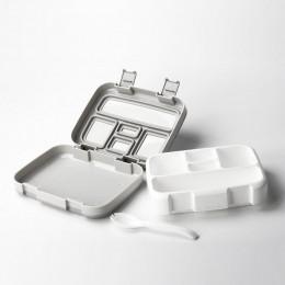 MICCK BPA fiambrera gratis para niños con compartimiento para microondas caja de dibujos animados Bento a prueba de fugas fiambr