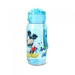 Botellas de agua de dibujos animados para niños respetuosas con el medio ambiente BPA botella de paja Tritan para niños hervidor