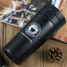 Termo ZOOOBE taza de café de doble pared vaso de acero inoxidable botella de frasco de vacío termo té taza de viaje termo Taza T