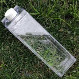 Cocina a prueba de fugas creativo transparente botella de agua de leche botella de agua al aire libre escalada Tour Camping niño