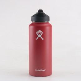 Hidro matraz 18 oz/32 oz/40 oz vaso matraz aislado al vacío botella de boca ancha de agua de acero inoxidable al aire libre bote