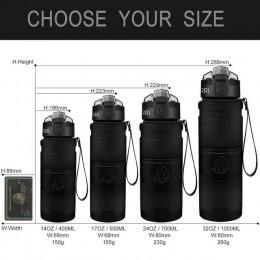 ZORRI botella para agua proteína agitador de movimiento portátil deportes botella de agua libre de Bpa de plástico para que acam
