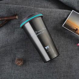 Keelorn 500ML termo taza de café con tapa termo sello de acero inoxidable frasco de termo al vacío taza para botellas de agua de