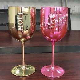 Copa de vino de plástico para fiestas de champán blanco coups copa de vino MOET champagne flautas copa de vino de una pieza