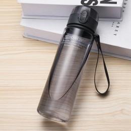 Botella de agua 400ml 560ml botella de plástico en plástico para beber directamente botellas de coctelera de senderismo botella