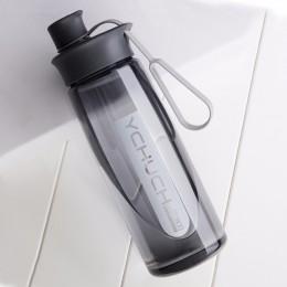 Botella de agua agitador de proteínas botella portátil deportes Camping botella de agua para caminar con Infusor de té taza de p