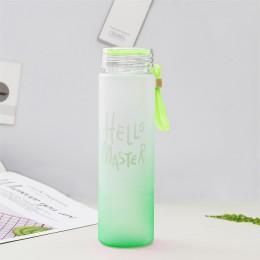Nueva botella de plástico para deportes acuáticos 500ml cuerda portátil niños beber al aire libre sello a prueba de fugas calaba