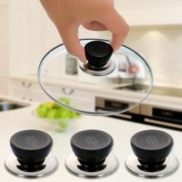 1 Uds. Utensilios de cocina universales utensilios de repuesto olla tapa de la sartén perilla de sujeción Circular manija del to